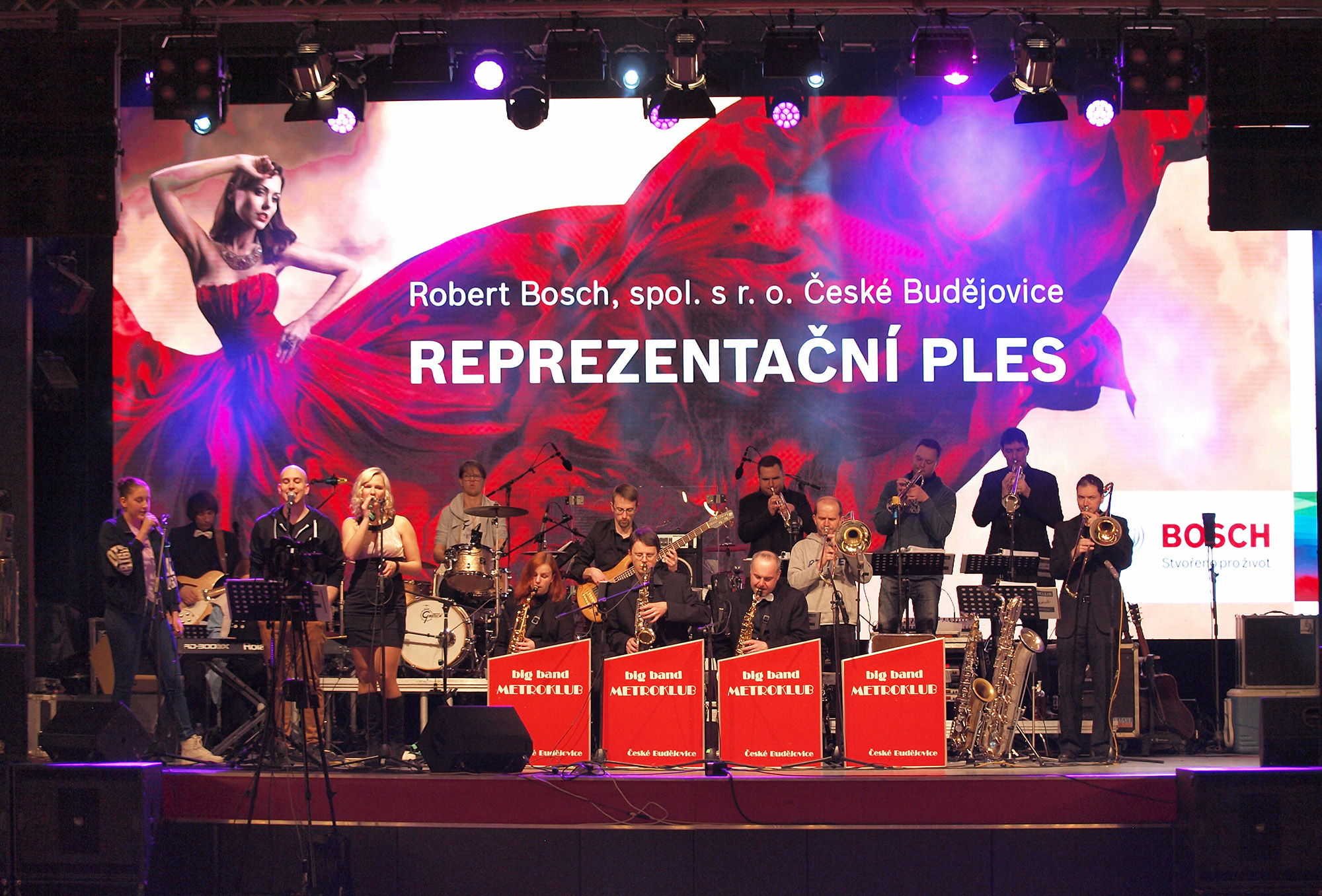 Robert Bosch v Českých Budějovicích uspořádal již 14. ročník reprezentačního plesu.