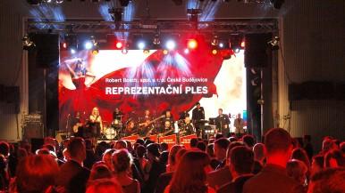 Robert Bosch v Českých Budějovicích uspořádal již 14. reprezentační ples