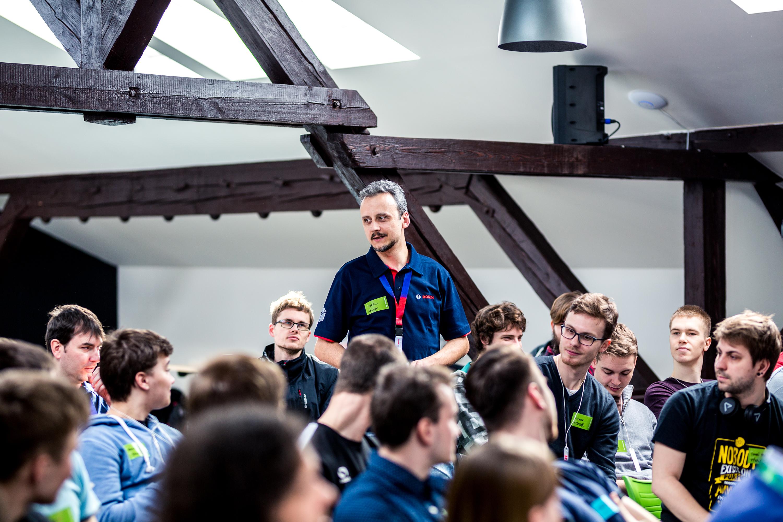 Celou akci mentorovali zkušení odborníci v oboru strojírenství z řad zaměstnanců Bosch.