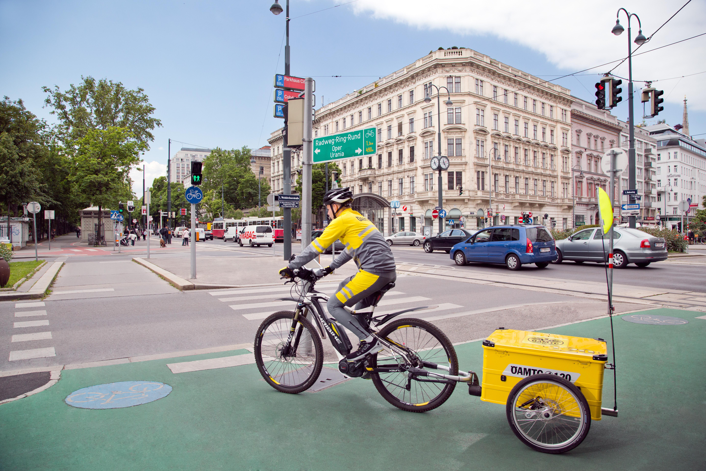 Nákladné elektrobicykel