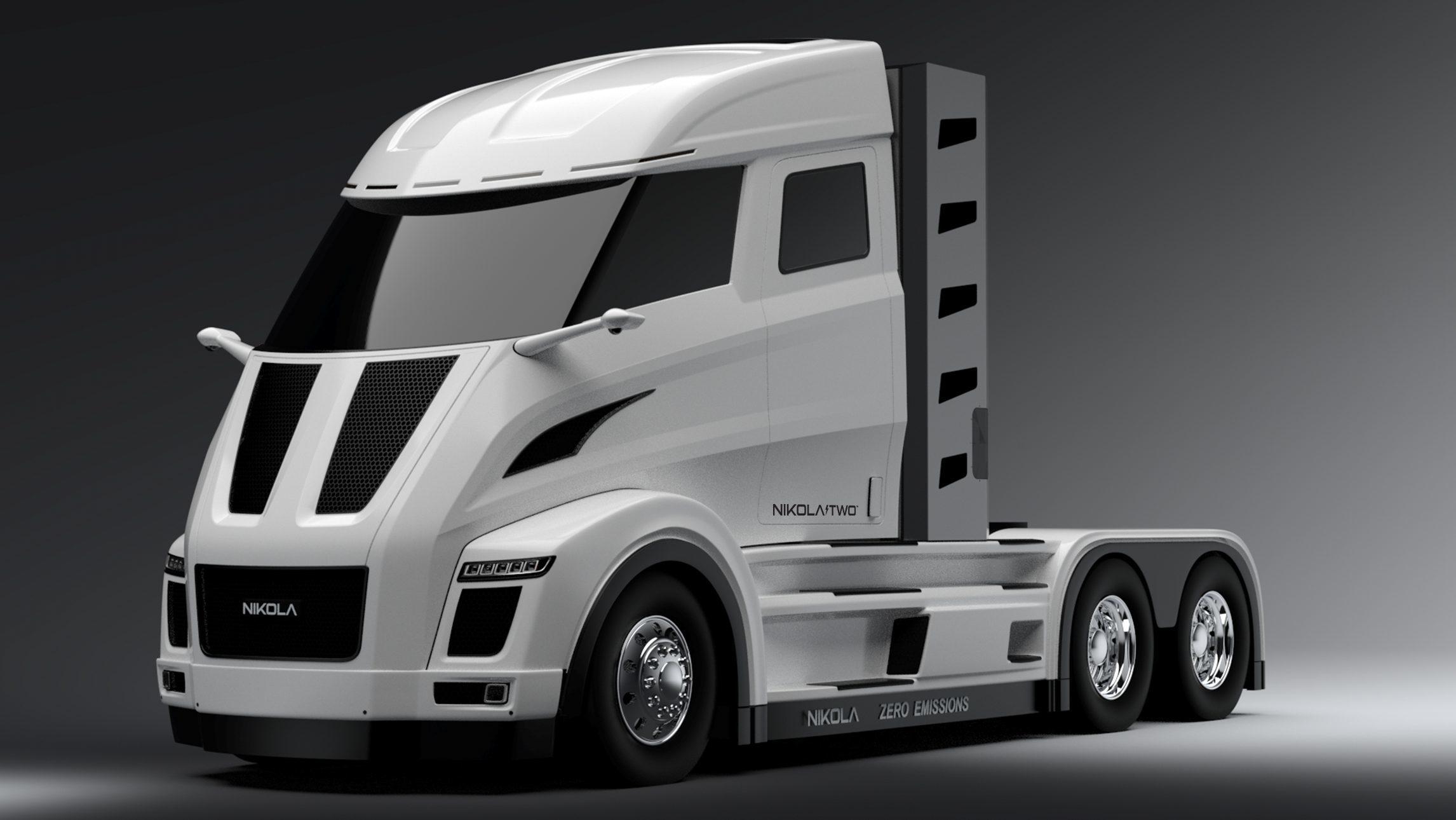 Hnací jednotka pro elektrická nákladní vozidla