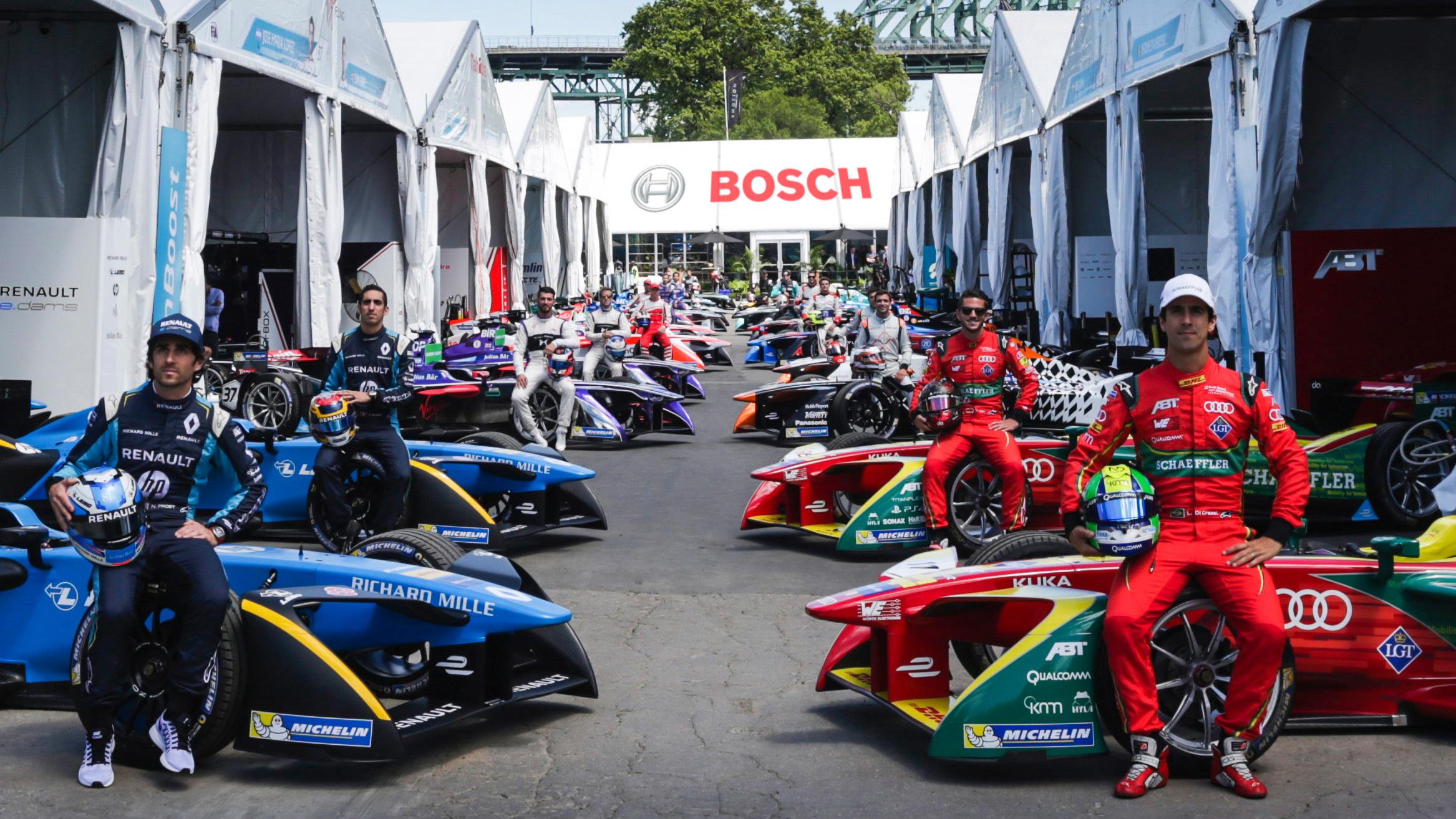 Bosch sa stal oficiálnym partnerom Formuly E