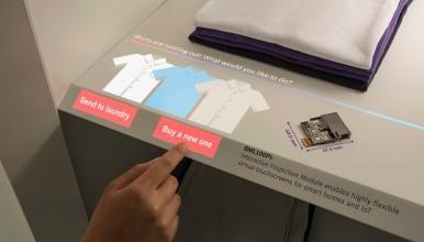 Bosch představuje virtuální dotykovou obrazovku pro každý povrch v chytré domácnosti a IoT