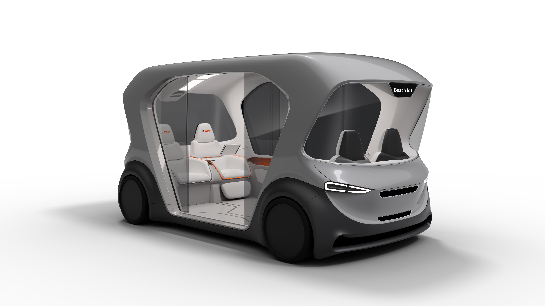 Debut nového konceptu vozidla kyvadlové dopravy na CES 2019 v Las Vegas