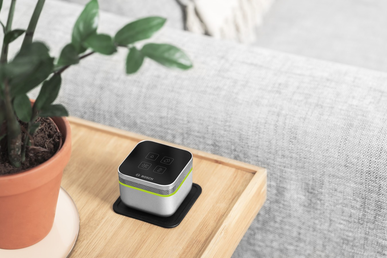 Senzor AIR pre pohodlie domova
