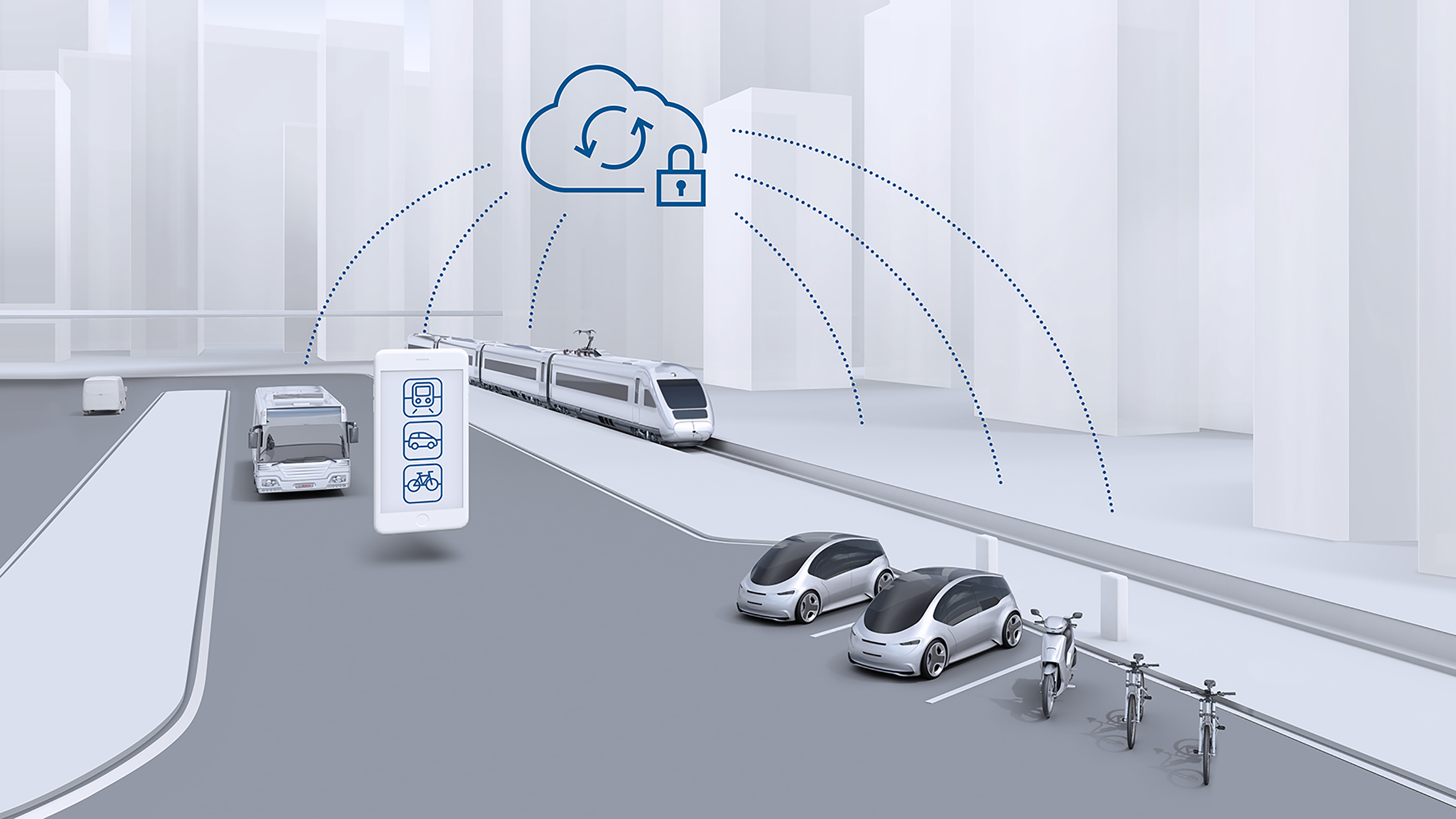 Jak Bosch mění jízdu pomocí propojených služeb