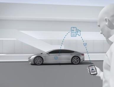Systém Perfectly Keyless od společnosti Bosch