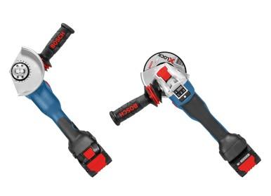 Revoluce v práci s profesionálními úhlovými bruskami: Systém X-Lock společnosti Bosch