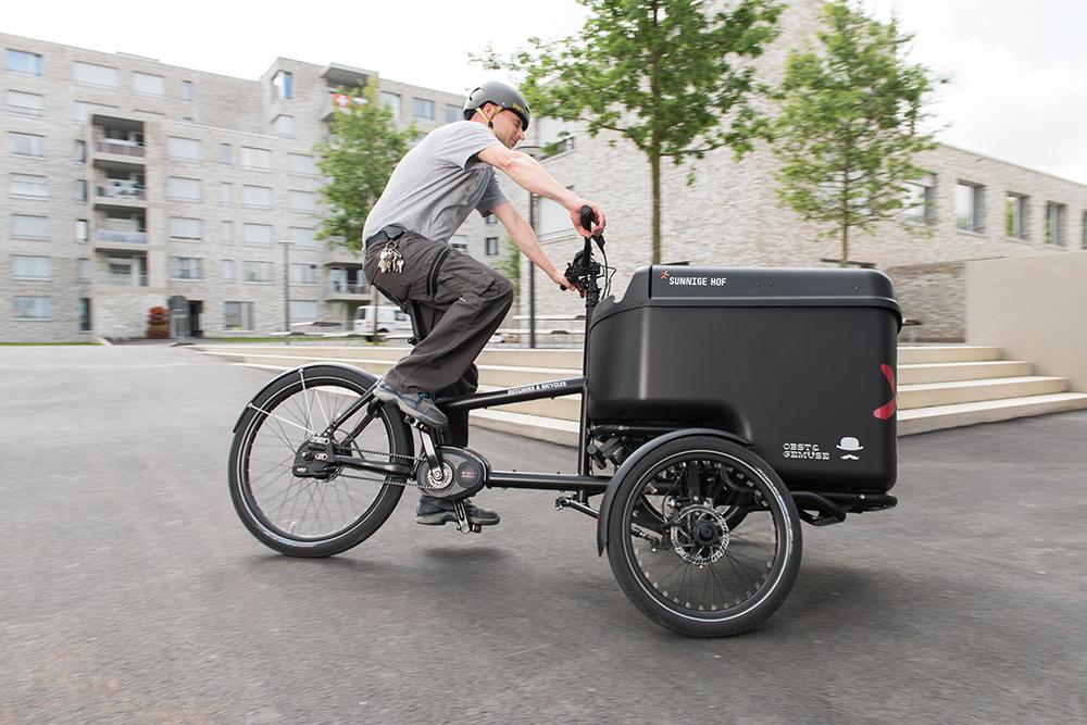 Nákladný elektrobicykel