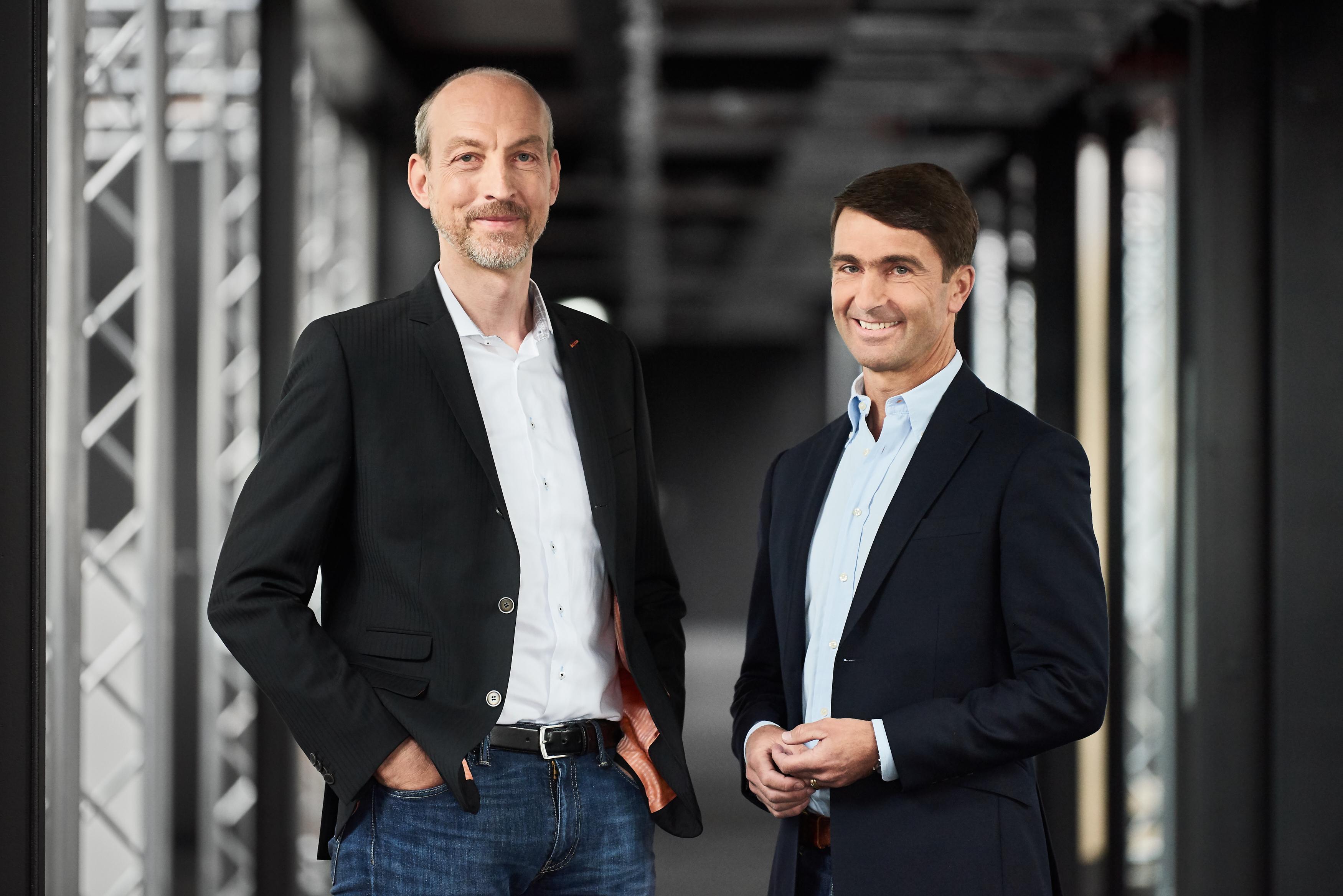 Dr. Ingo Ramesohl (vlevo) a Philipp Rose (vpravo)