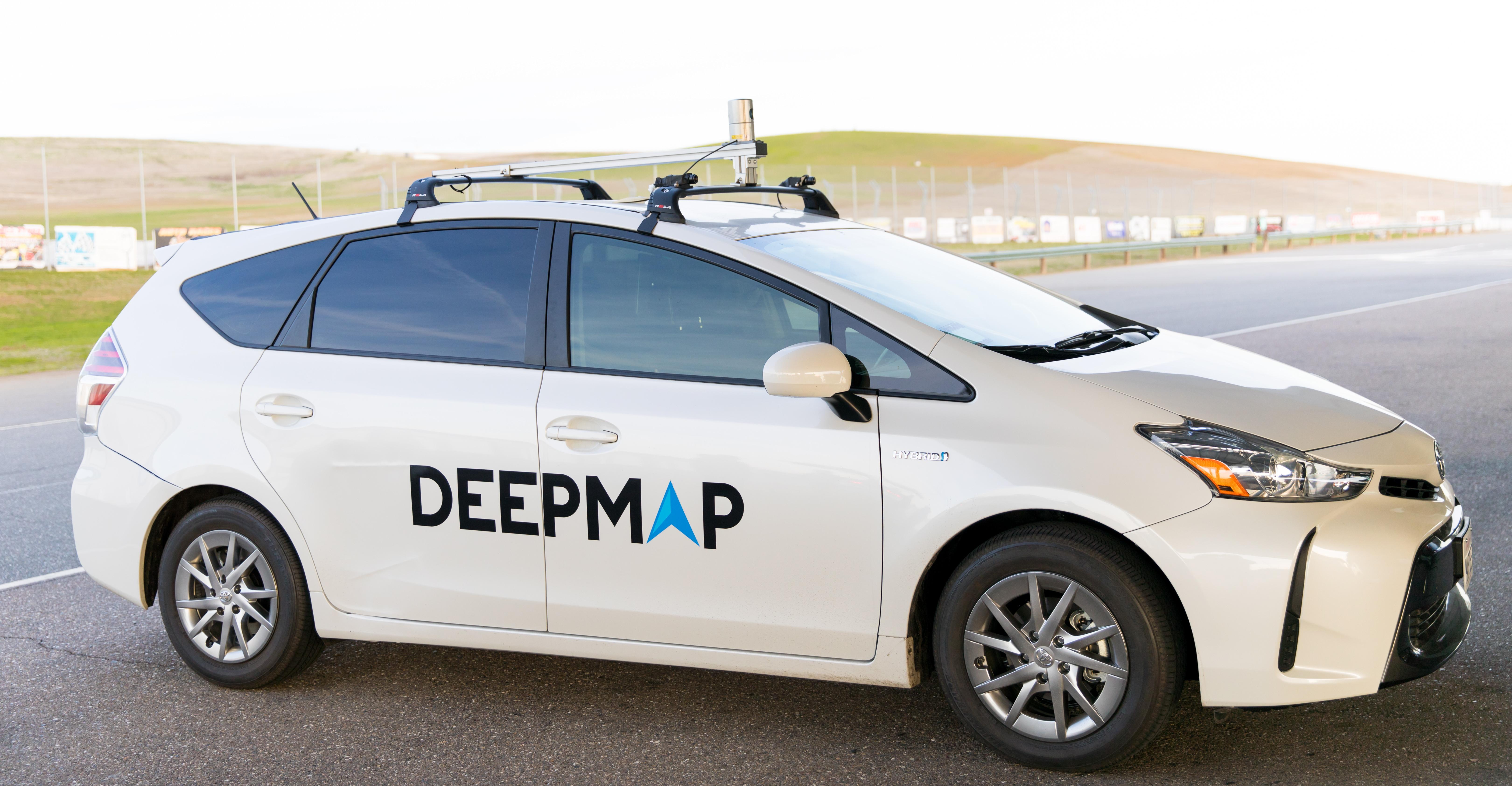 Mapovací vozidlo od DeepMap