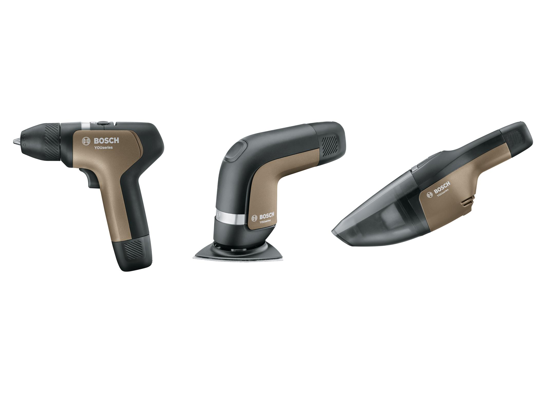 Prvá svetová YOUseries od Bosch pre domácich majstrov