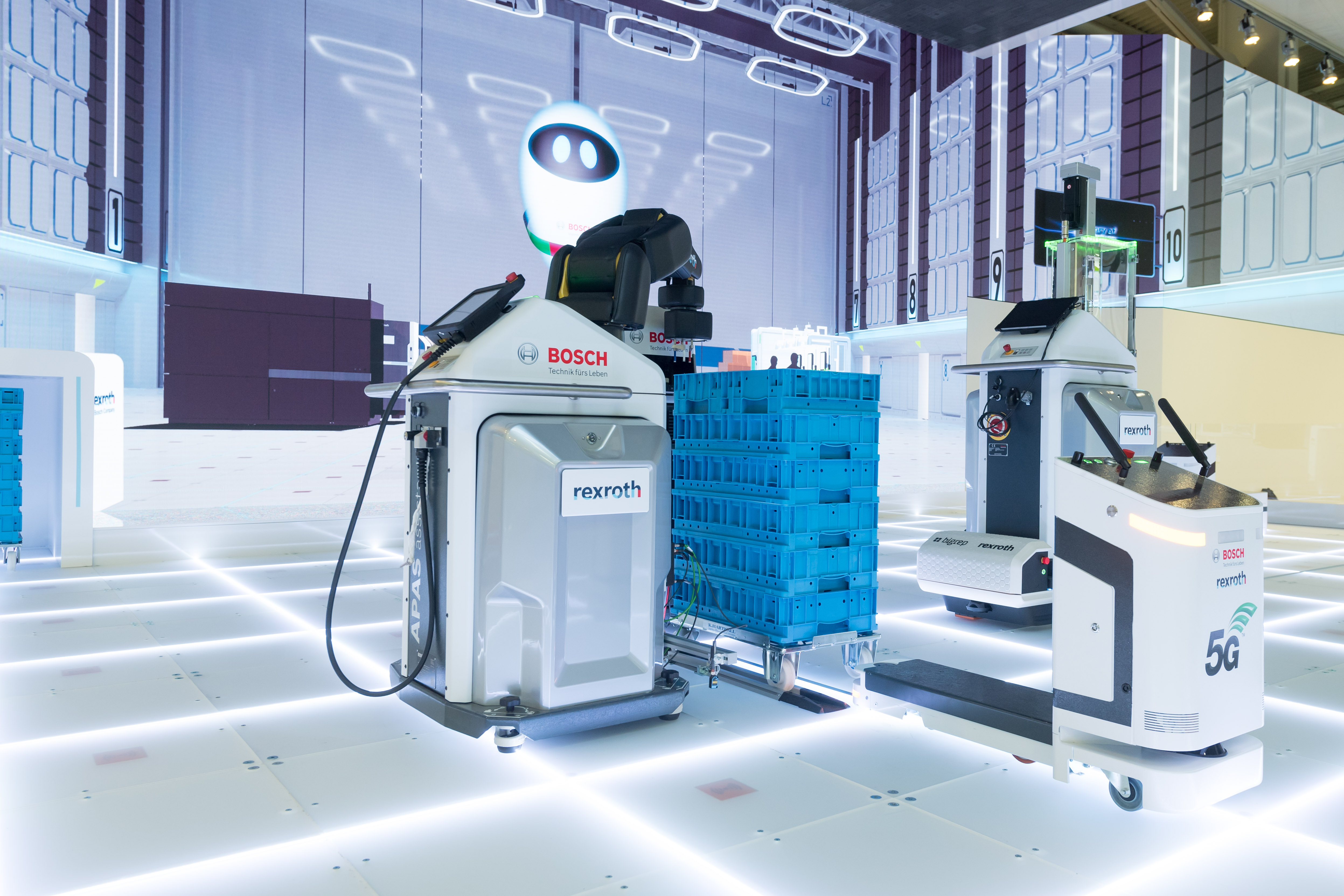 Továrna budoucnosti: Bosch přetváří vizi na realitu