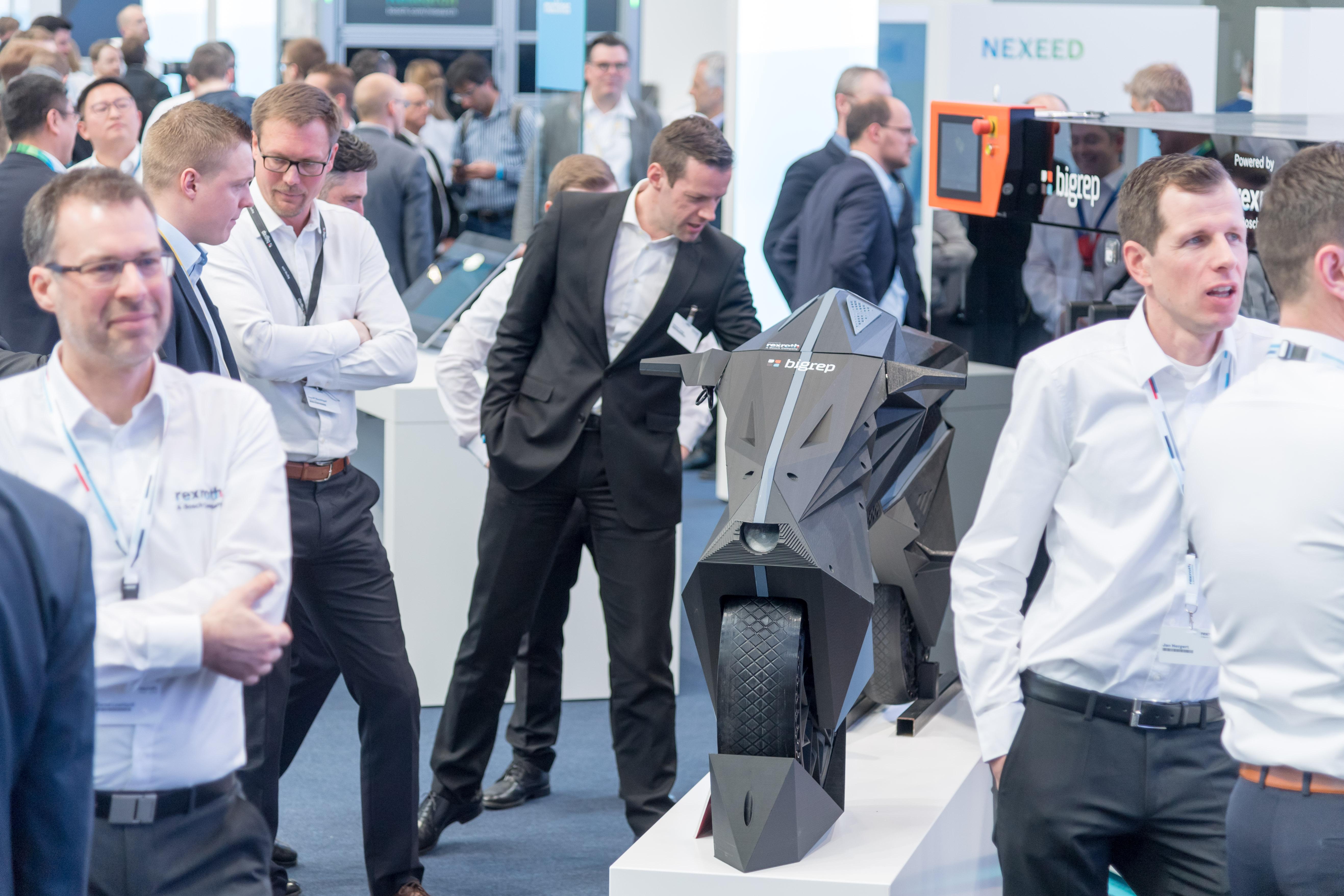 Bosch predstavuje celosvetovo prvú elektrickou motorku vytlačenú na 3D tlačárně