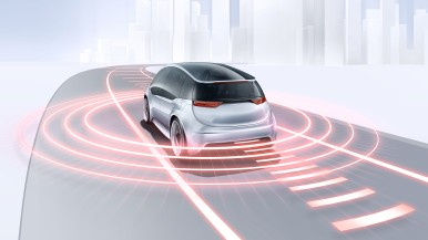 Tři siláci pro bezpečnost: Bosch doplňuje portfolio senzorů pro automatizovanou jízdu