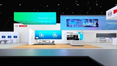 Stánek Bosch na CES 2020