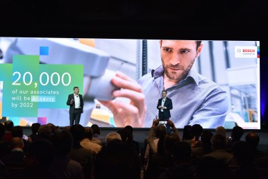 Konference Bosch na CES 2020