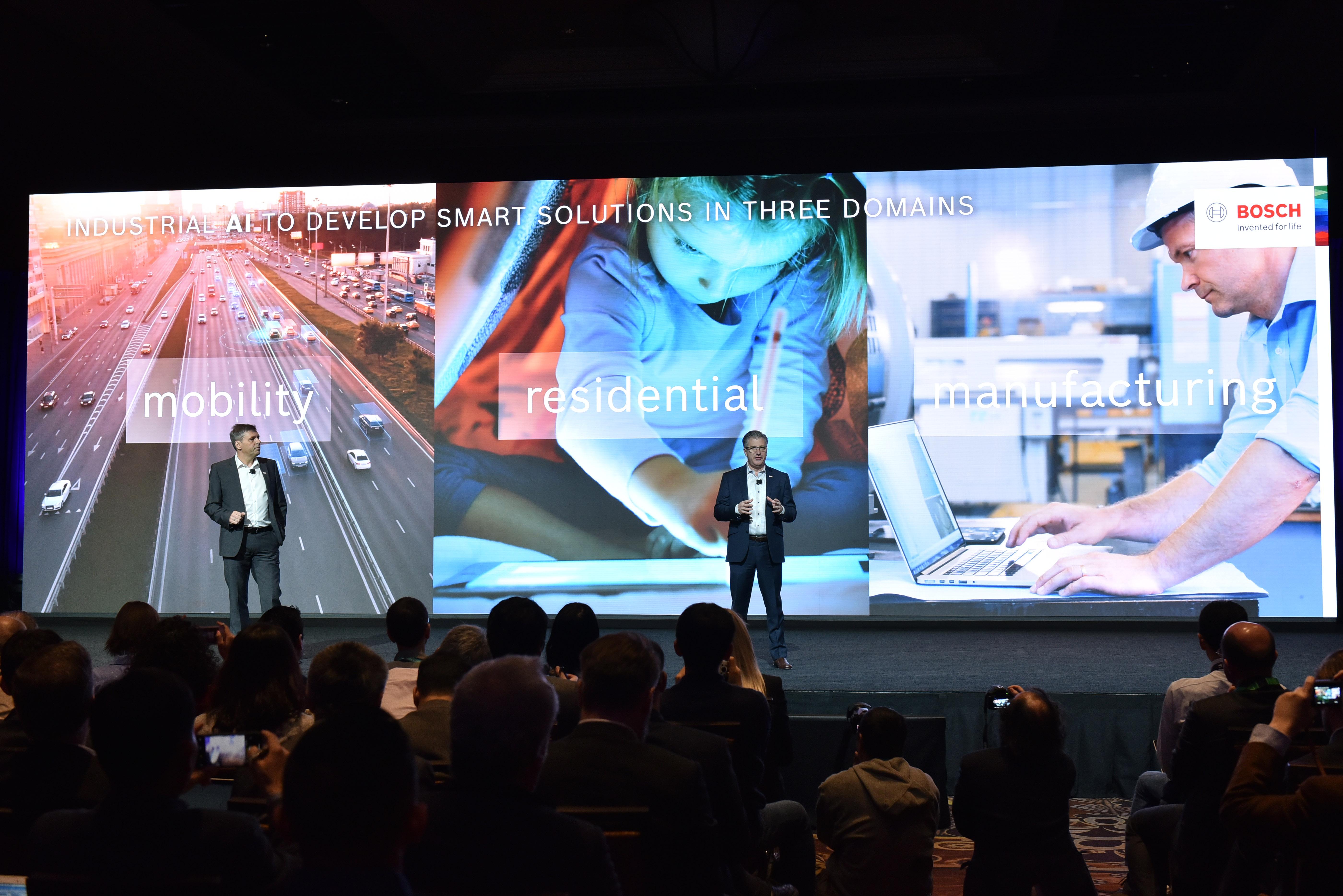 Konferencia Bosch na CES 2020
