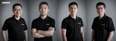 Zleva 周鑫 (ZHOU Xin) spoluzakladatel a CPO,  吴甘沙 (WU Gansha) spoluzakladatel a CEO, 姜岩  (JIANG Yan) spoluzakladatel a CTO, 彭进展 (PENG Jinzhan) spoluzakladatel a hlavní systémový architekt