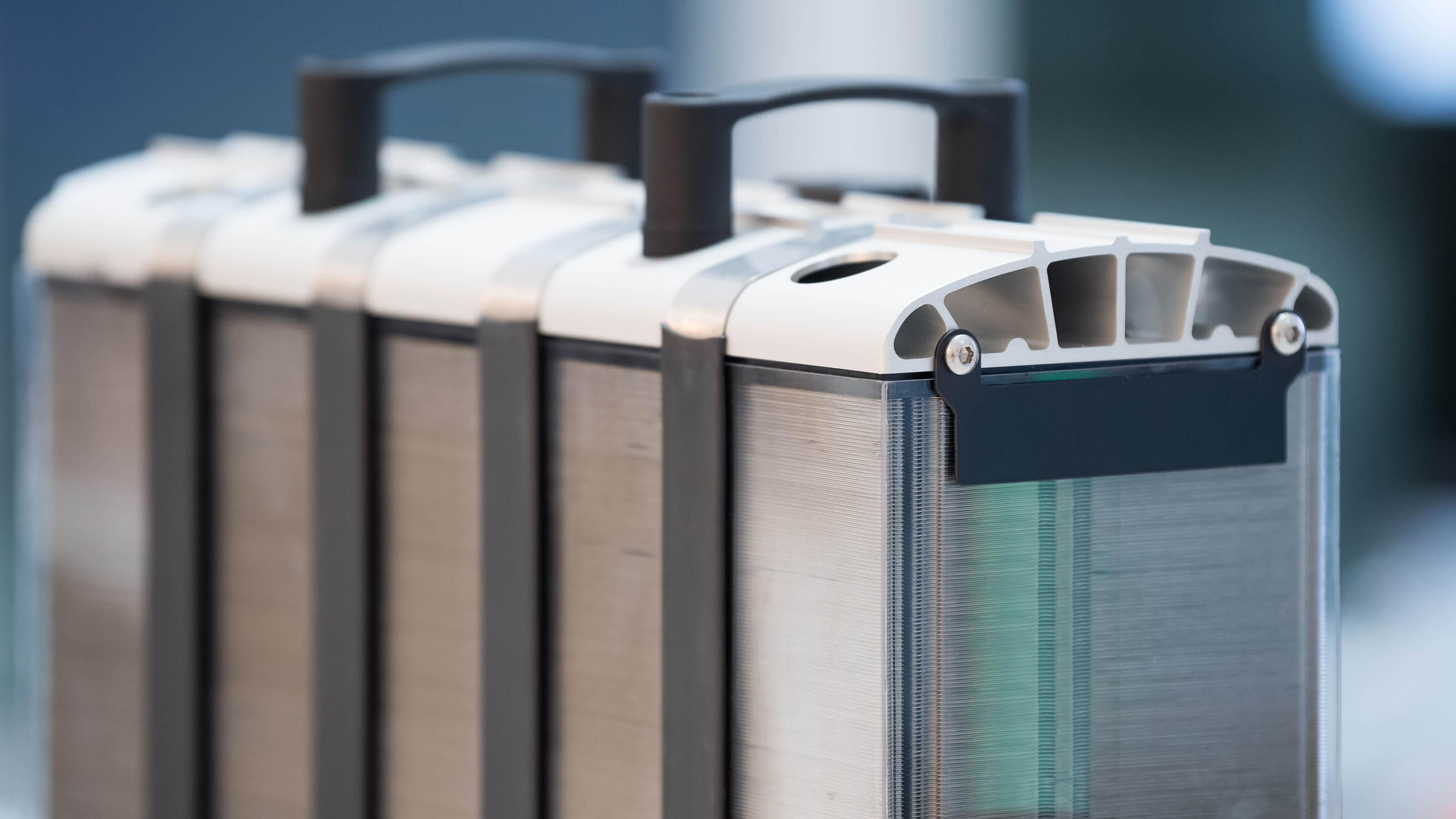 Pre elektrizácii ťažkého prevádzky: komín palivových článkov Bosch
