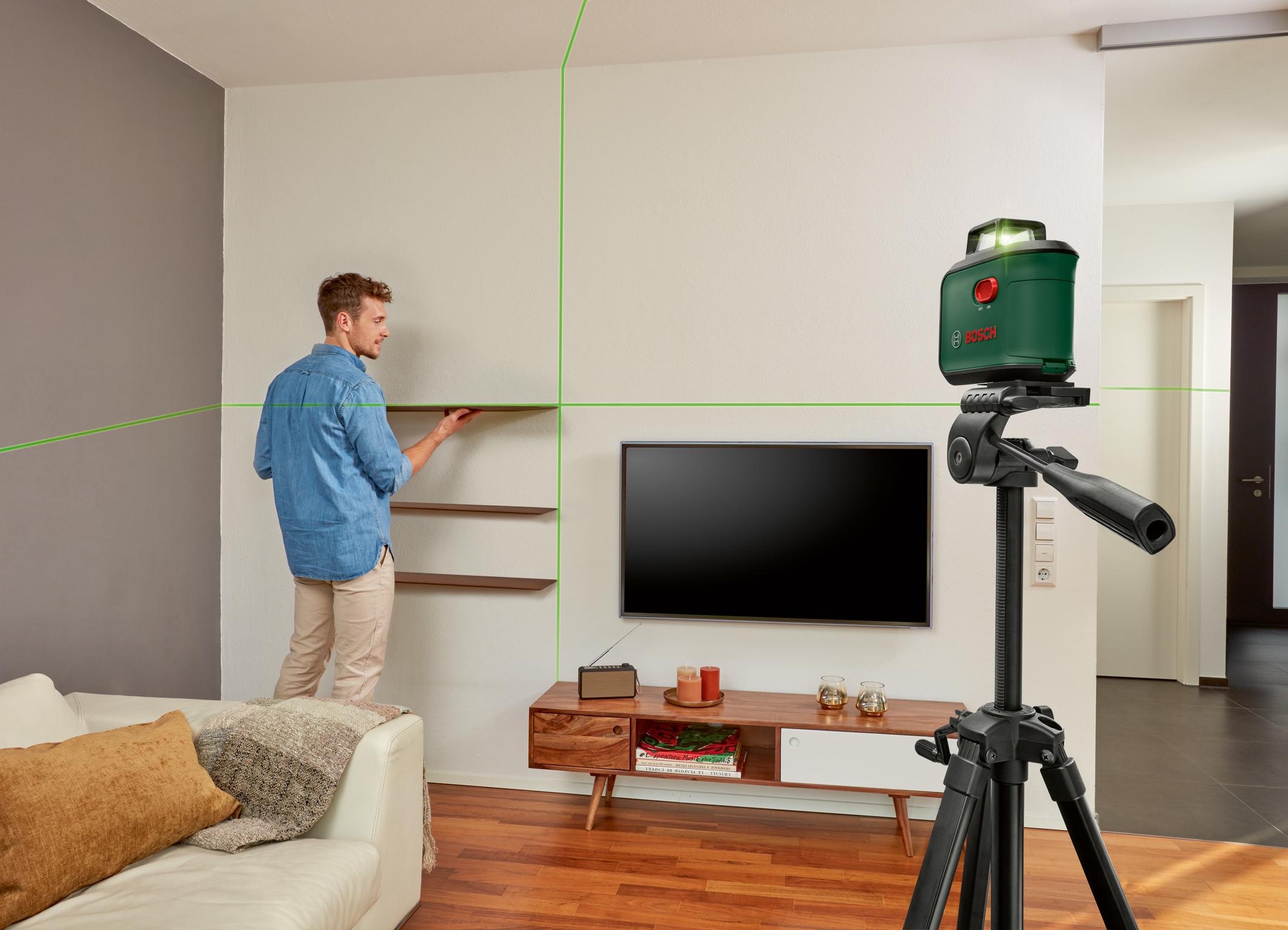 Všestranný pomocník: AdvancedLevel 360 od firmy Bosch pre kutilov