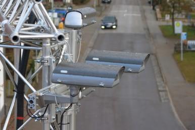 Nová technologie byla testována v Ulmu v reálných jízdních podmínkách