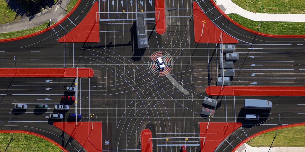 Jak automobily a infrastruktura spolupracují při městské automatizované jízdě