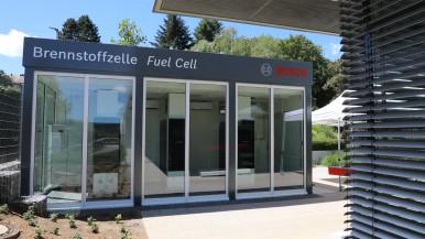 Vodíkový palivový článek ve Wernau