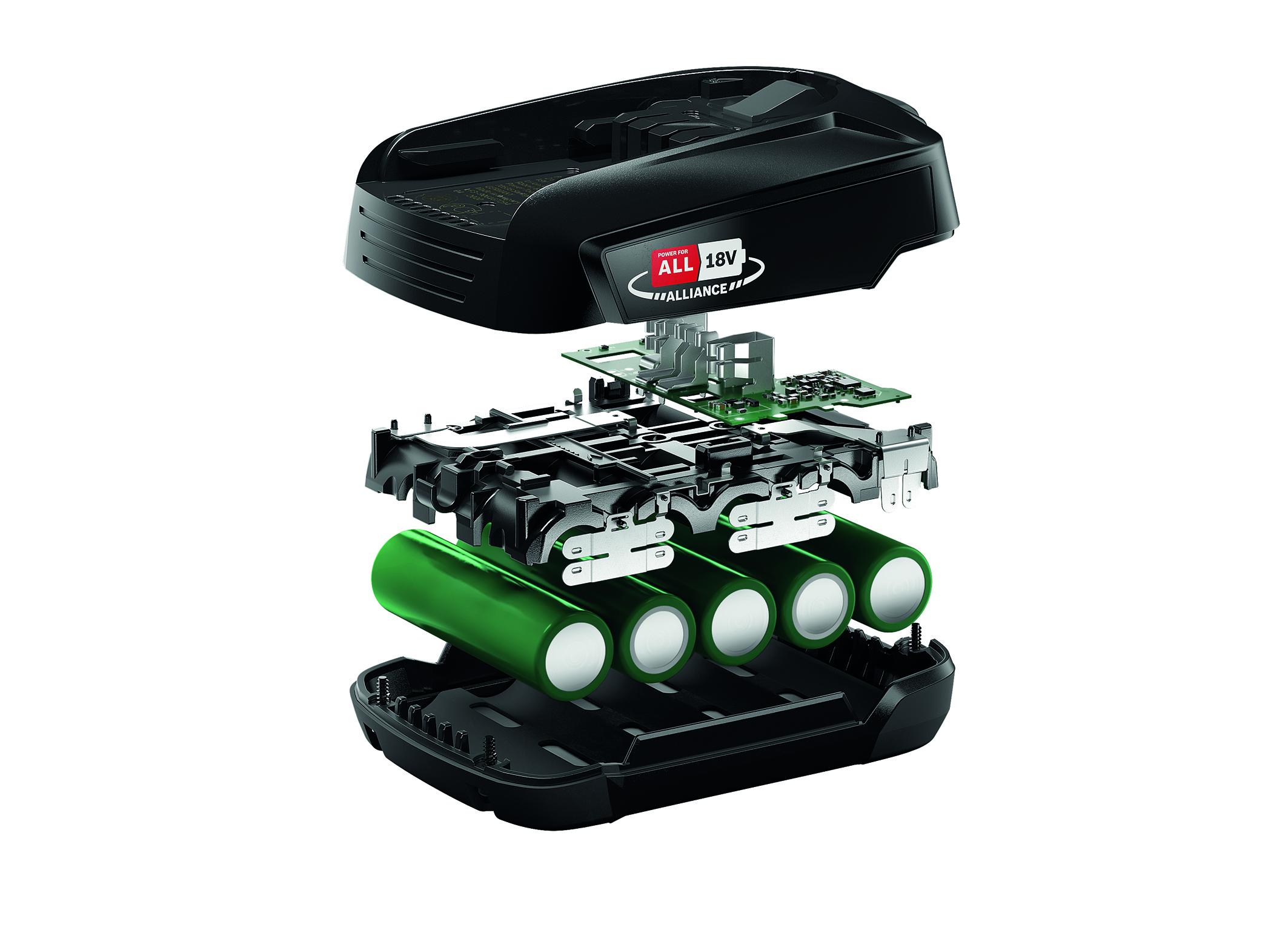 Batériový systém značiek pre výrobky v domácnosti aj v celom dome: Napájanie pre All Alliance založené na akumulátora Bosch