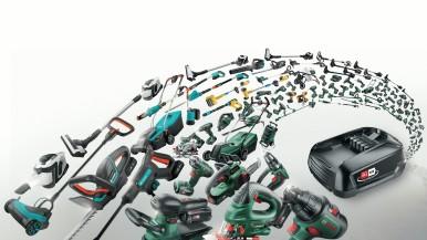 Bosch a Gardena zakládají akumulátorovou alianci