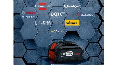 Vyšší efektivita pro komerční uživatele: Bosch otevírá profesionální 18V sytém pro profesionální značky