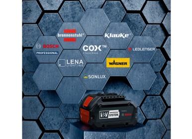 Zvýšení efektivity pro profesionální uživatele: Bosch otevírá profesionální 18V systém pro odborné značky
