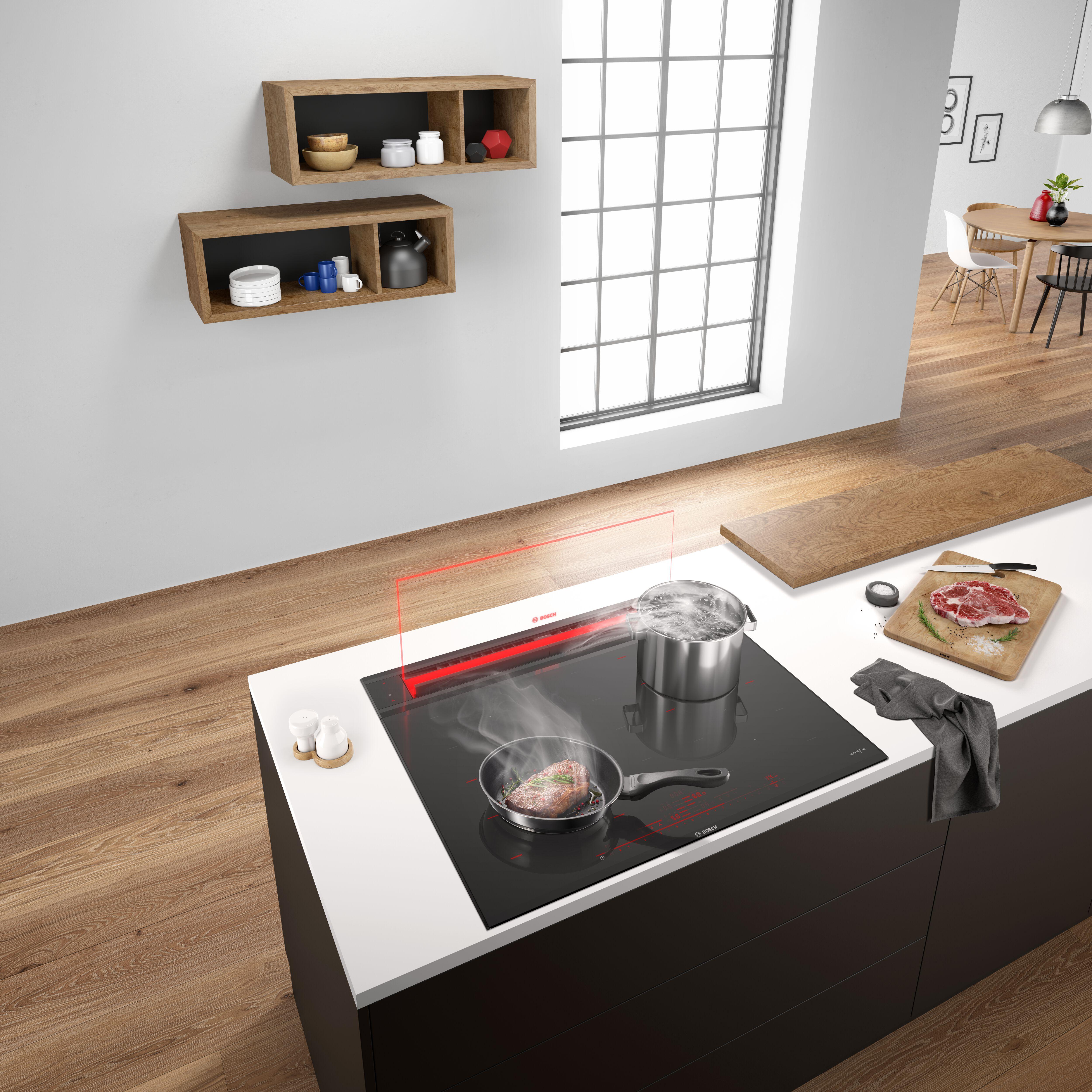 Nápadně nenápadná: Digestoře jako vizuální prvek v kuchyni