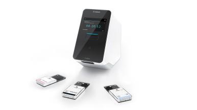 Analyzátor sa 3 testovacími kazetami (VRI, SARS-CoV-2, Pooling)