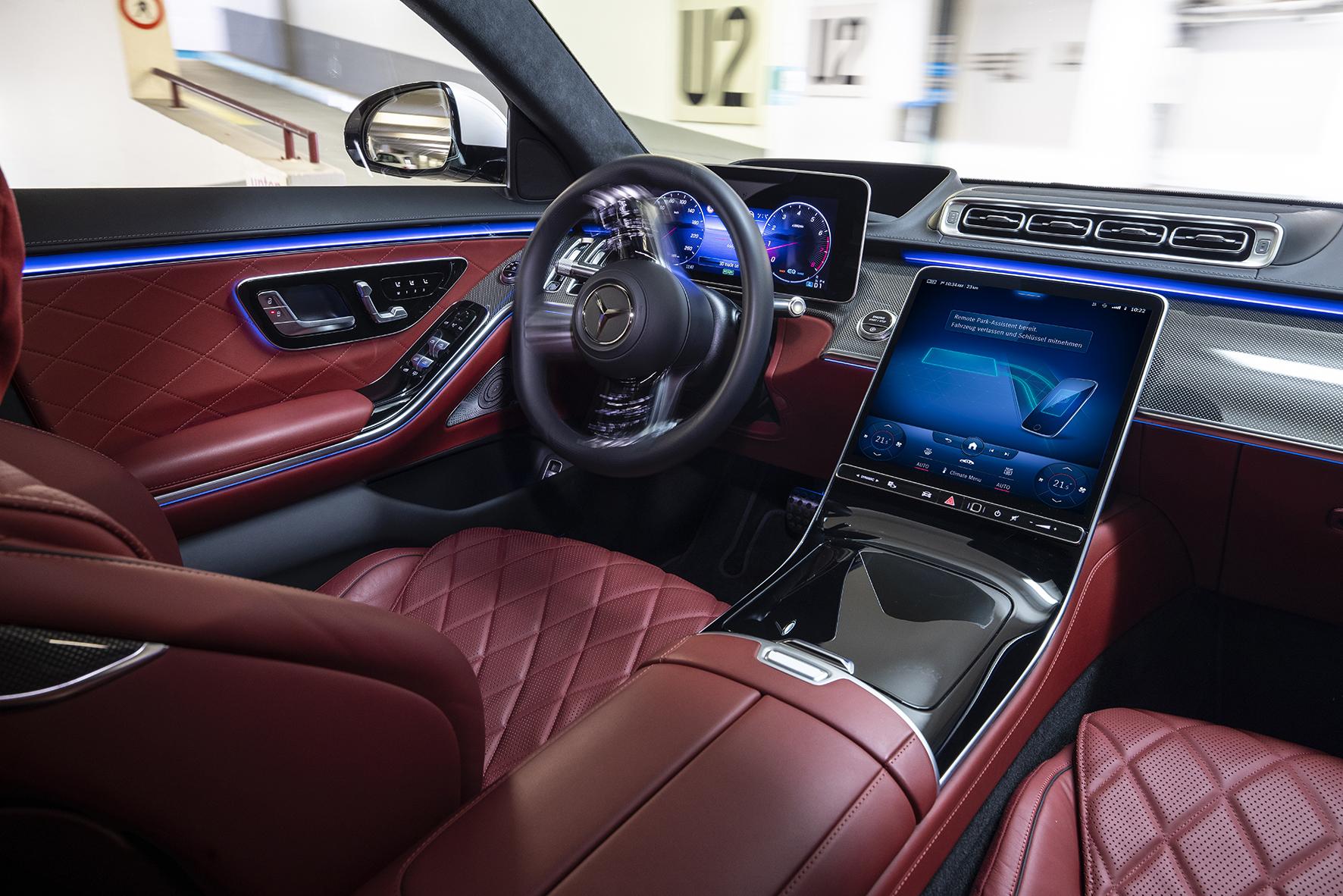 První parkovací funkce Level 4 na světě v sériovém vozidle