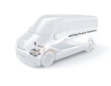 Elektrické hnací ústrojí pro lehká užitková vozidla od společnosti Bosch