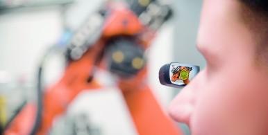 Datové brýle Bosch pro virtuální realitu