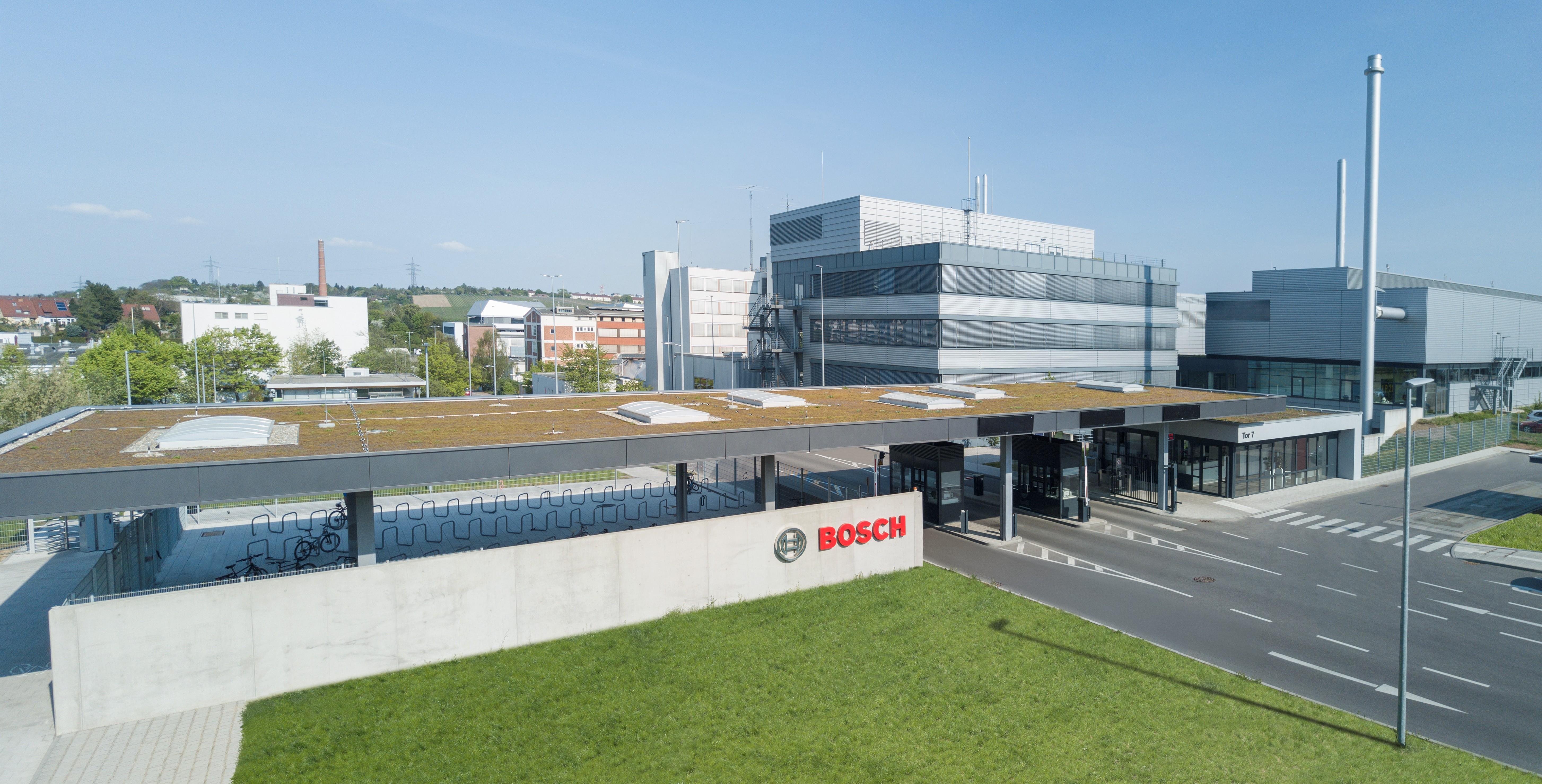 Závod Bosch ve Feuerbachu
