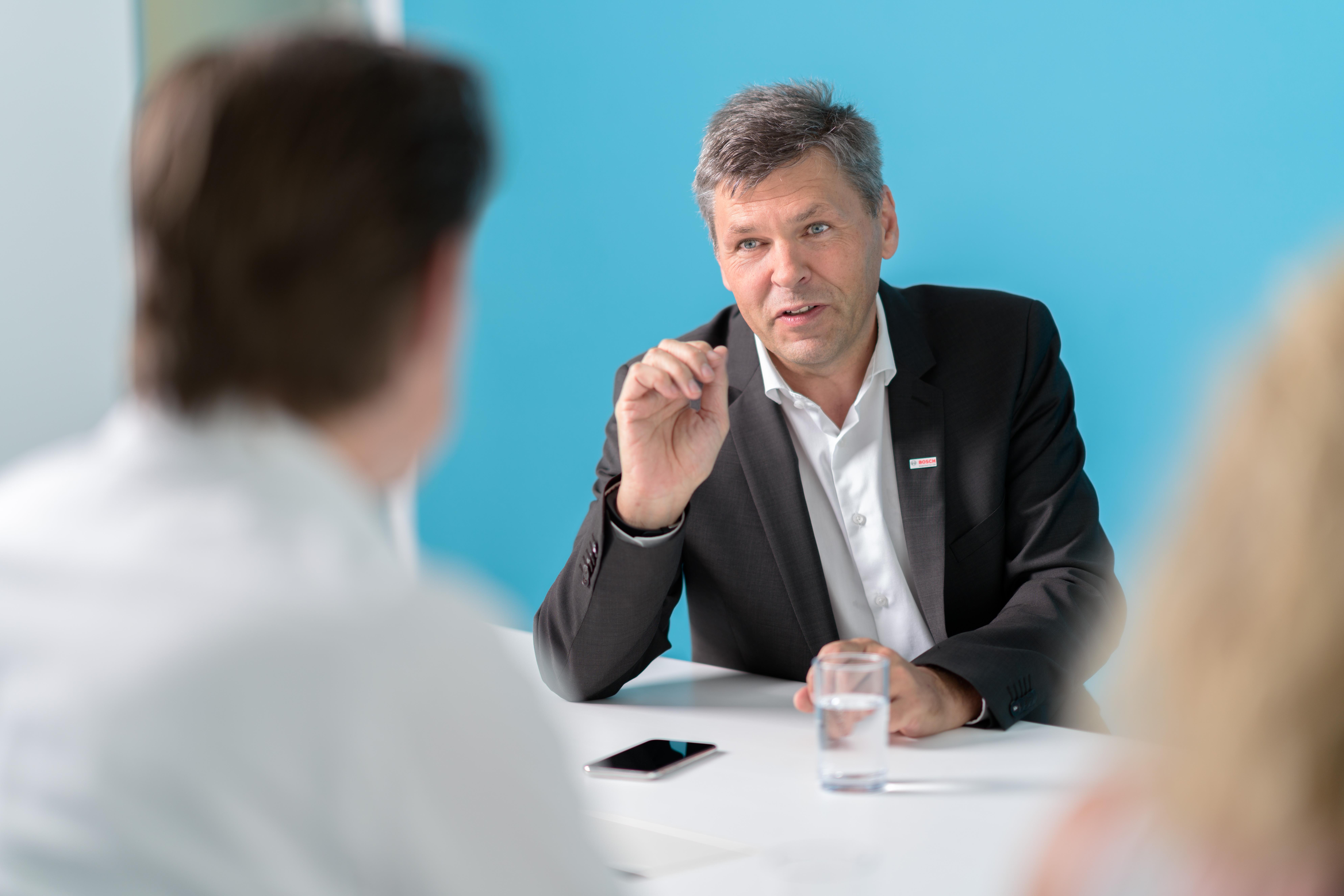 Dr. Michael Bolle, CDO a CTO Bosch Group