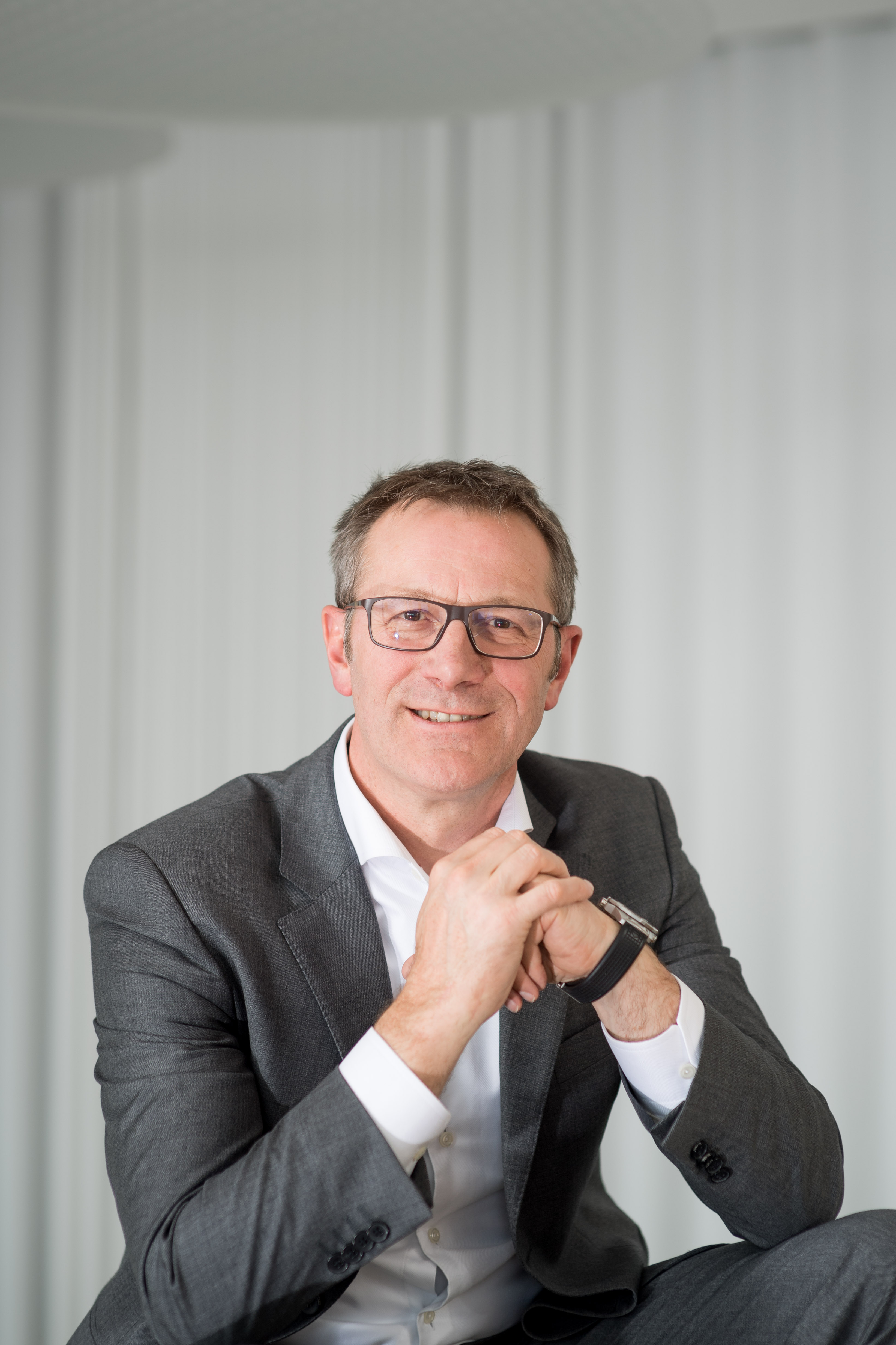 Rolf Najork, člen představenstva společnosti Bosch odpovědný za průmyslové technologie