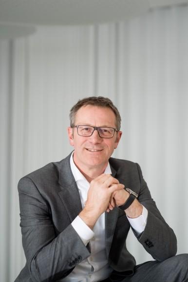 Rolf Najork, člen predstavenstva spoločnosti Bosch zodpovedný za priemyselné technológie