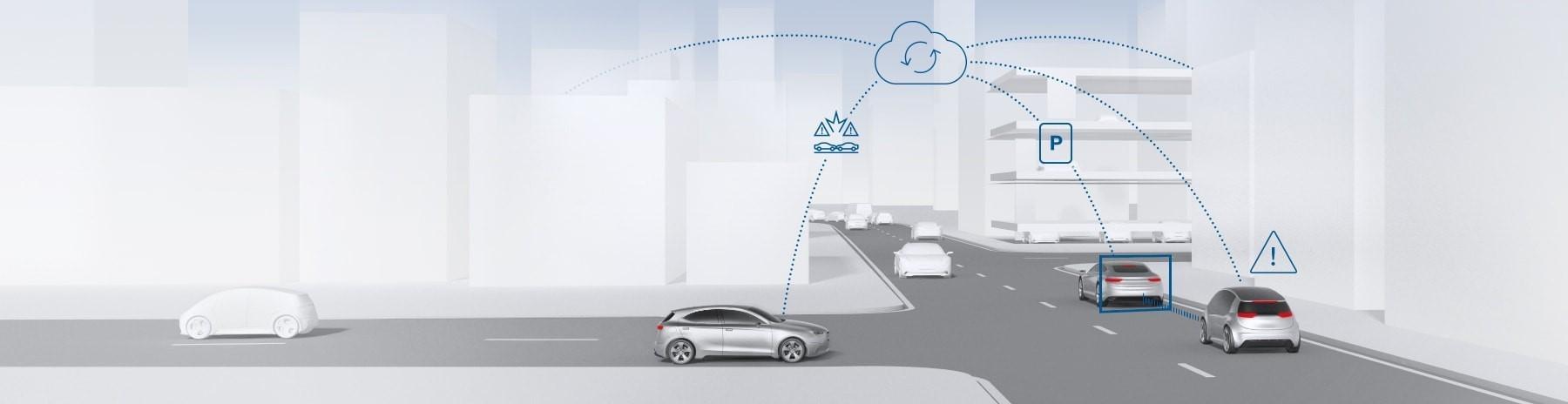 """Štúdia Bosch: """"Efekt prepojených vozidiel 2025"""""""
