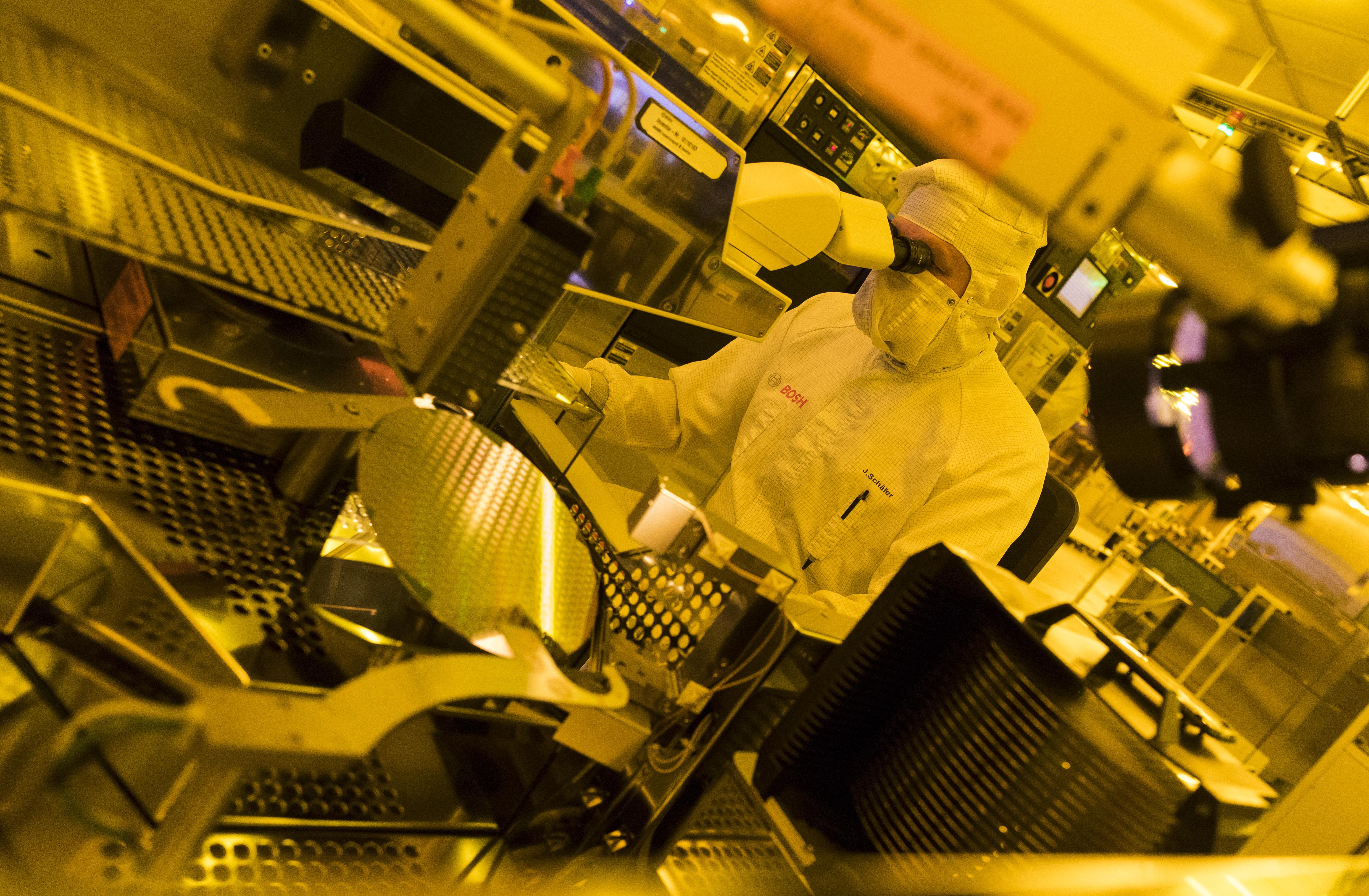 Závod na výrobu polovodičov
