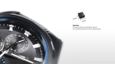 Mimoriadne energeticky úsporný senzor zrýchlenia BMA400 pre nositeľnú elektroniku a IoT aplikácie
