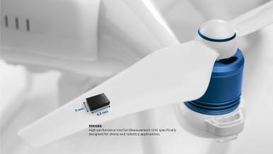 Vysoce výkonná IMU pro využití v dronech a robotice