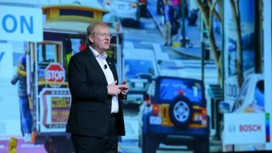 Tisková konference Bosch na CES 2018