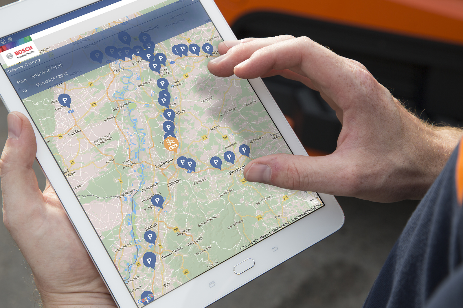Bezpečné parkovanie nákladných vozidiel od firmy Bosch: bezpečie pre vodiča aj náklad