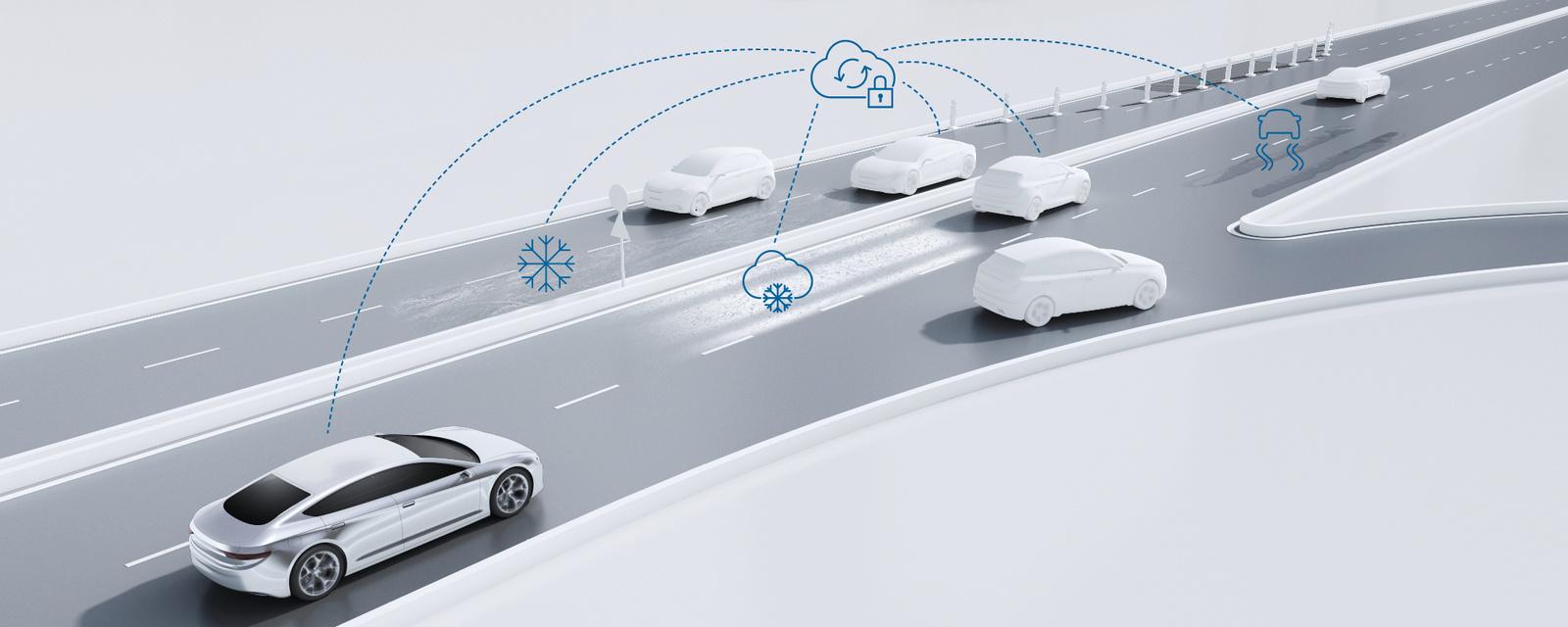 Prediktivní služby o stavu komunikací od společnosti Bosch
