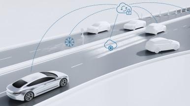 Popometer pre automatizované vozidlá prichádza z cloudu Bosch