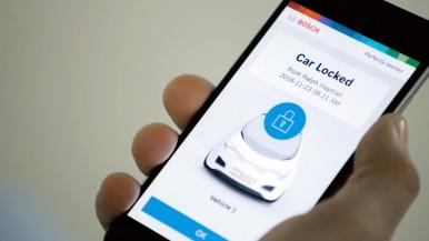 Systém Perfectly Keyless od spoločnosti Bosch mení inteligentný telefón na kľúč od vozidla